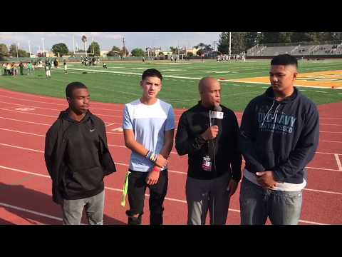 INTERVIEW - EISENHOWER HS IMPACT PLAYERS - LIVE HIGH SCHOOL FOOTBALL BROADCAST & LIVE STREAM