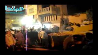 محافظ الفيوم يتفقد موقع انهيار منزل نتيجة حادثة بمنطقة المبيضة بمدينة الفيوم