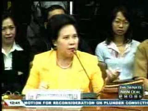 Miriam Defensor Santiago Spewed Fire