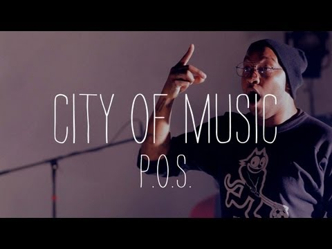 """P.O.S. Performs """"Bumper"""" - City of Music"""