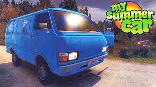 My Summer Car ПОЕЗДКА В МАГАЗИН АВАРИЯ ПАБ
