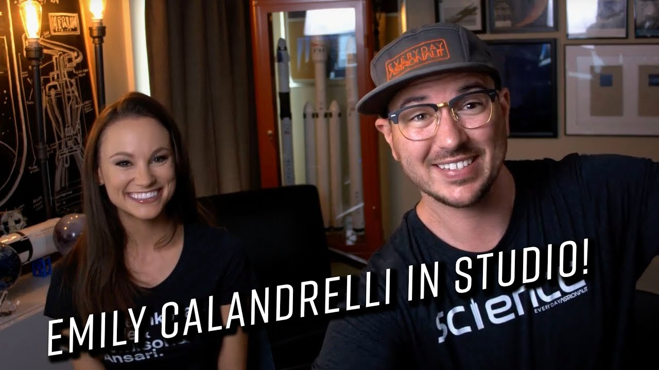 Talking Science Communication with @thespacegal, Emily Calandrelli