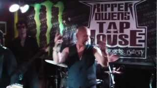 """Another Rainy Night (Without You)"" Geoff Tates Queensryche performs at Ripper Owens 10-28-2012"