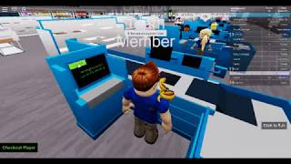 Life At wal-mart (in roblox)