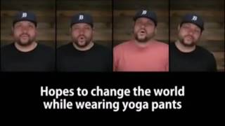 Anonymous Patriots, Acapella The millennials song parody