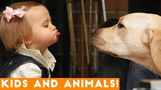 Ultimate Funniest Kids and Pets Compilation of 2018  Funny Pet Videos