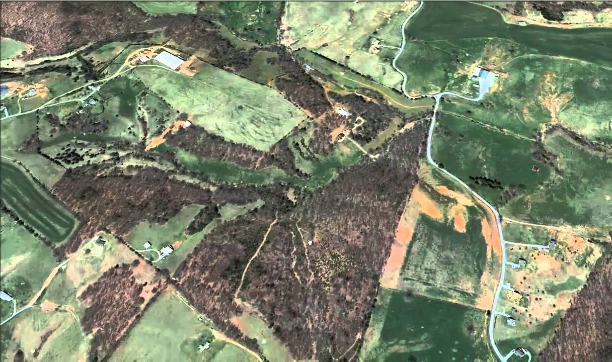 Looking At Aerial Photos For Deer Hunting YouTube - Hunting aerial maps