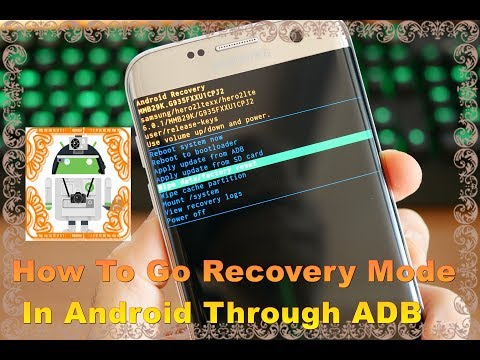 How To Go To Recovery Mode In Android Using Adb || See In The Description And On Subtitle