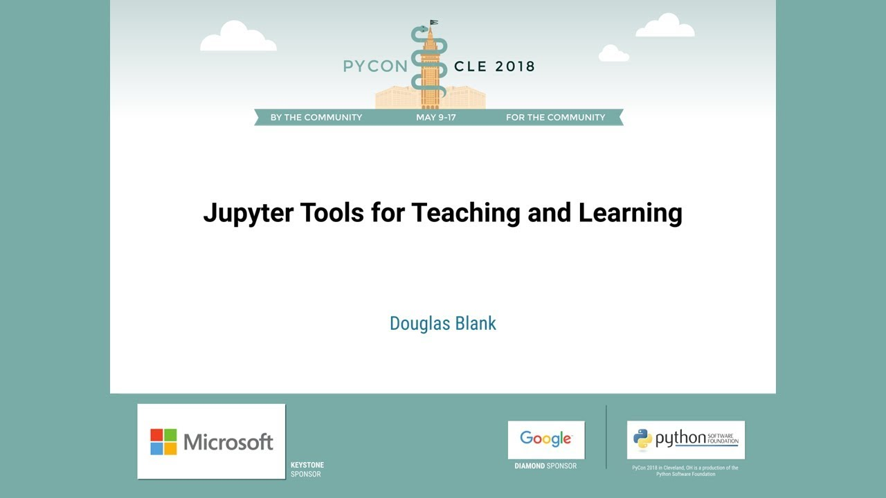 Image from Jupyter Tools for Teaching and Learning