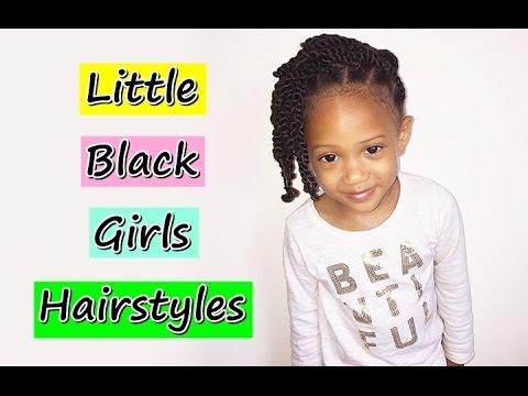 Little Black African American Girls Hairstyles