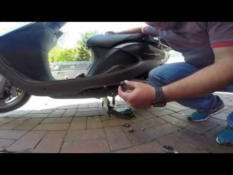 Honda Spacy 110 Yağ Değişimi