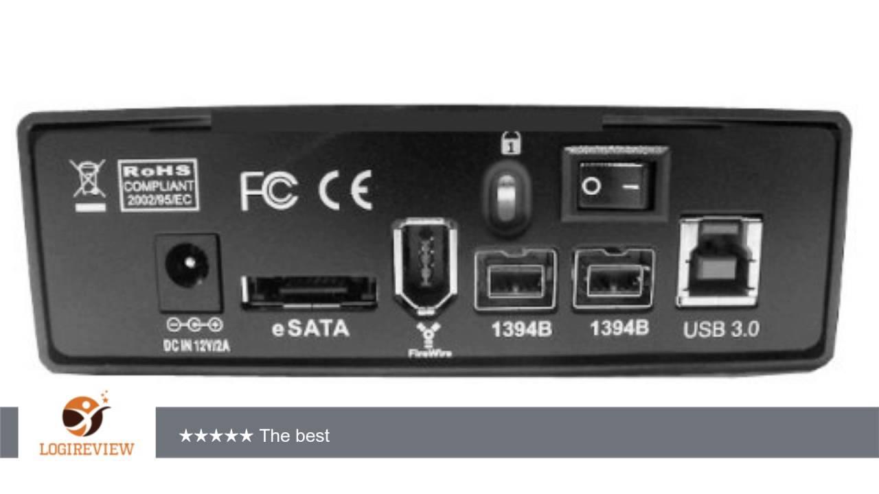 Fantom Professional GFP4000Q3 4TB 7200 RPM USB 3.0/eSATA/Firewire ...