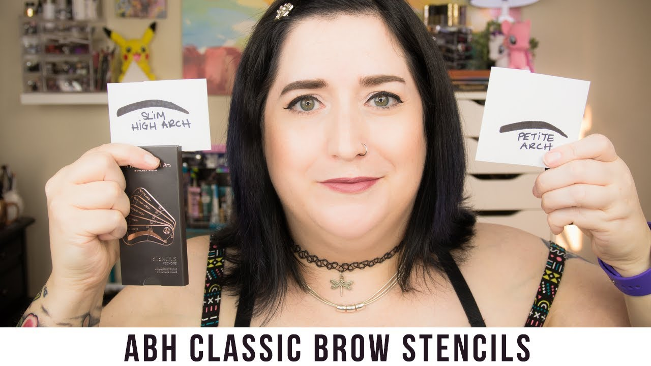 Anastasia Beverly Hills Brow Stencils Myth Or Magic Youtube