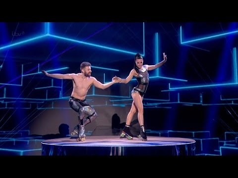 Thumbnail: Britain's Got Talent 2015 S09E08 Semi-Finals Billy & Emily England Insanely Dangerous Roller Skaters