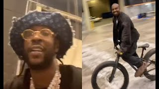 2 Chainz Takes Kanye To The Bluff Ride Bikes Late Night In ATL