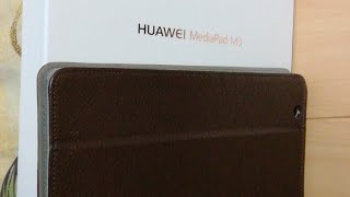 Посылка с китая, чехол на планшет Huawei MediaPad M3