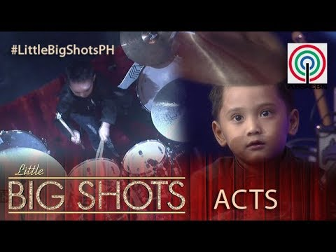 Download Little Big Shots Philippines: Moses | 4-year-old Drummer