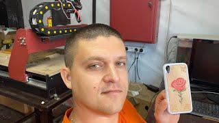 Бизнес на ЧПУ. Показываю процесс изготовления продукта. Запуск УП на Mach3