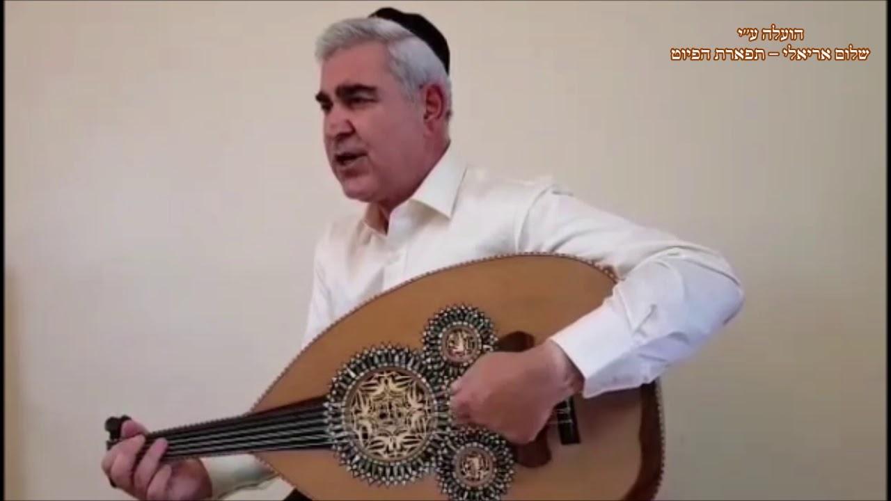 דרשתי המוסיקאי משה חבושה מתוך שירת הבקשות של עדת החאלבים