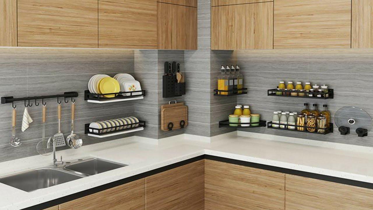 100 Kitchen Organization Ideas Kitchen Space Saving Hacks Countertop Organization 2021 Youtube