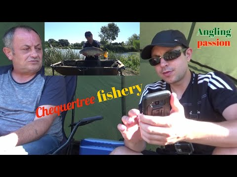 Carp Fishing At Chequertree Fishery Ashford Kent- Me And Dad Back Out Again  With Funny Conversation