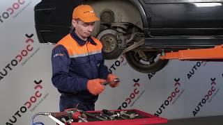 Wie ALFA ROMEO GIULIA GT Bremsklötze auswechseln - Tutorial