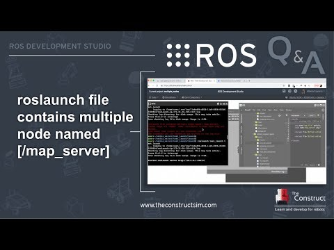 ROS Q&A] 162 - roslaunch file contains multiple nodes named