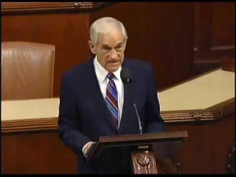 Ron Paul's Farewell Speech To Congress - 32 Questions ...