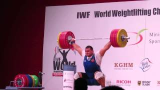 Ruslan Albegov and Bahador Moulaei Clips from WWC 2013 Poland