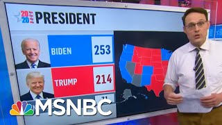 Kornacki Shows Biden's Paths To 270 And Trump's Uphill Fight | The 11th Hour | MSNBC