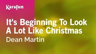 Download Karaoke It's Beginning To Look A Lot Like Christmas - Dean Martin * MP3 song and Music Video