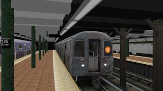openBVE Metro Subway Simulator 2018: D Train to Coney Island and Concourse Yard