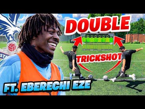 INCREDIBLE FREE KICK TRICK SHOT FT. EBERECHI EZE 🤯🎯 Thumbnail