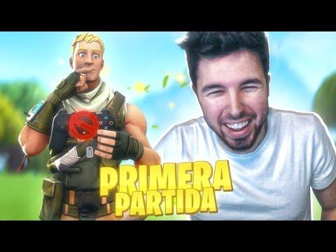 MI PRIMERA PARTIDA *REAL* DE FORTNITE!