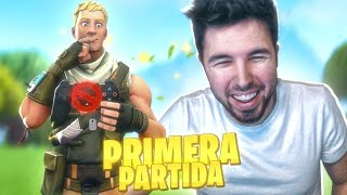 MI PRIMERA PARTIDA *REAL* DE FORTNITE!