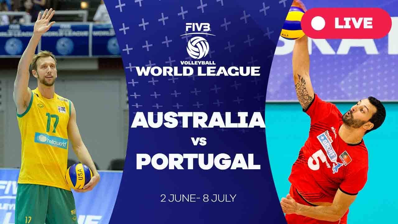 Australia v Portugal - Group 2: 2017 FIVB Volleyball World League