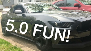 finally drove a tuned 2016 s550 mustang gt