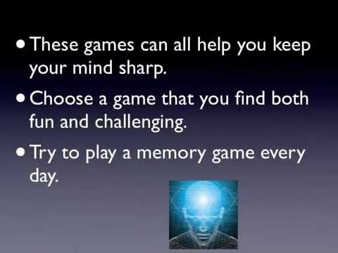 free brain games for adults