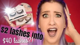 IT WENT VIRAL! Cheap eyelash hack TESTED with a SPOOLIE!!!
