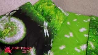 Постельное белье с одуванчиками - модель