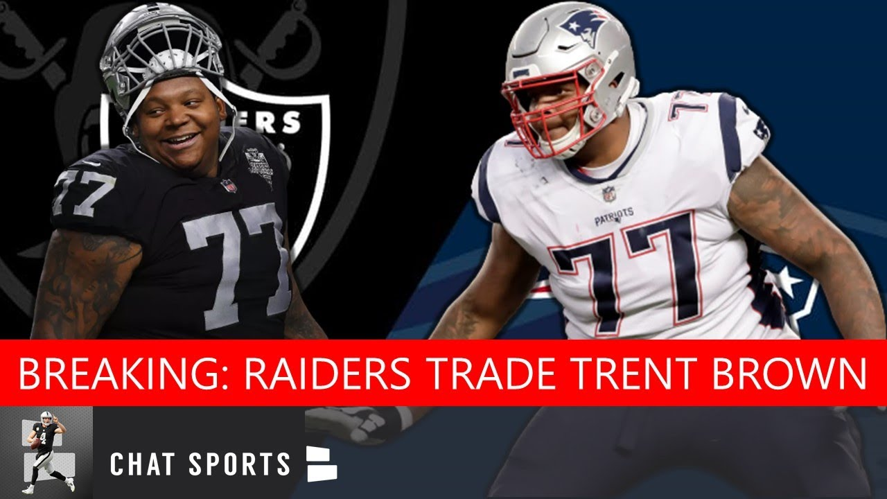 Raiders OT Trent Brown expected to be traded to Patriots