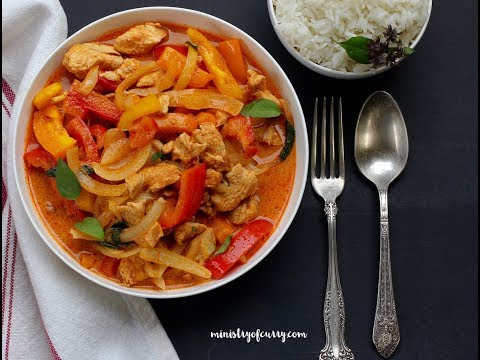Thai red curry chicken instant pot ministry of curry check out this video for an easy thai red chicken curry recipe in instant pot forumfinder Choice Image
