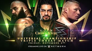 WWE Returning To Saudi Arabia For Crown Jewel, Braun Strowman vs. Roman Reigns vs. Brock Lesnar Set
