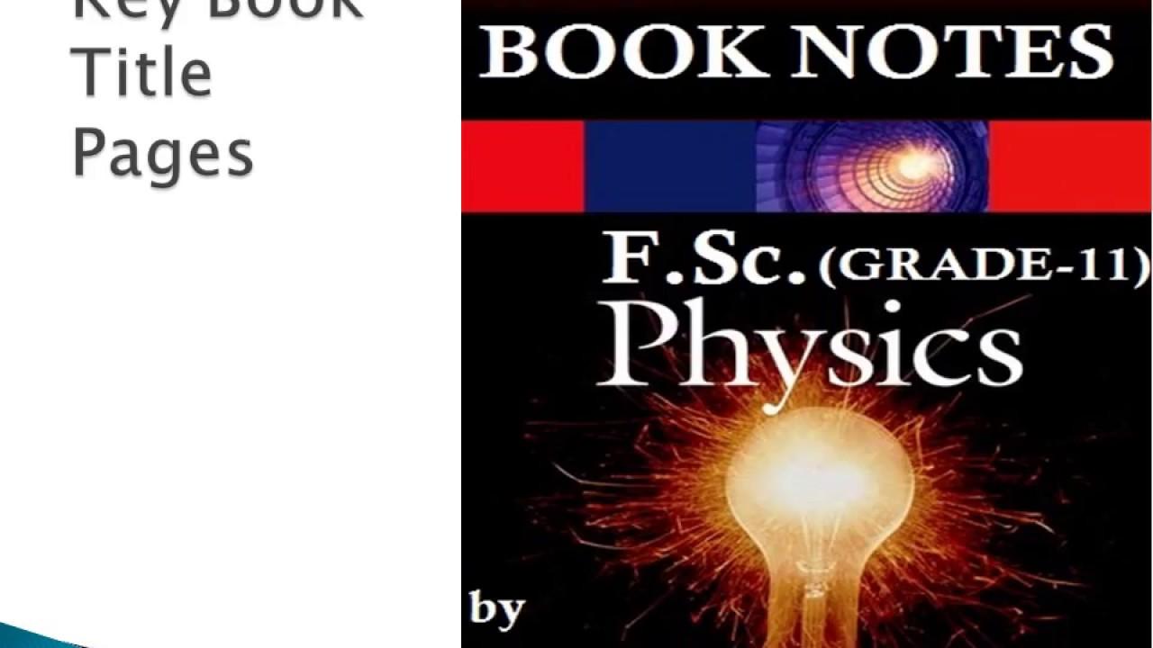 Kpk Board Physics Class 11