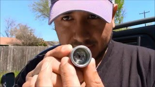 How to remove lug nut lock without the key