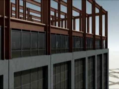 Deconstruction of Deutsche Bank Bldg. (Anime)