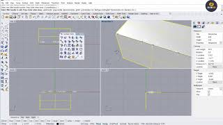 라이노강좌 surface tool variable ra…