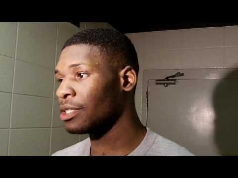 Adonis Thomas Postgame Interview - Memphis Men's Basketball at UAB 1/7/12