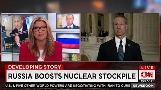 Mac on CNN discussing Russia