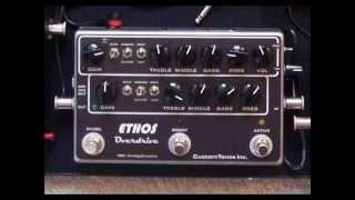DEMO dumble like pedals comparison DUMBELL, ZENDRIVE CLONE, BARBER SMALL FRY, ETHOS OVERDRIVE